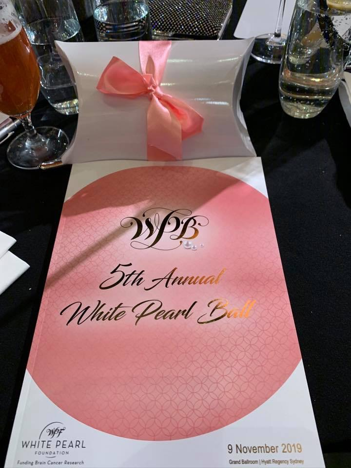 White Pearl Ball 2019